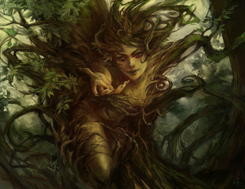 1039x800_13164_Kyria_2d_fantasy_tree_dryad_forest_creature_picture_image_digital_art