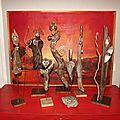 Sculptures en bois flotté et bronze... la suite!