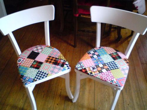 chaise ik a 10 photo de d fi 39 13 pour mes deux princesses. Black Bedroom Furniture Sets. Home Design Ideas