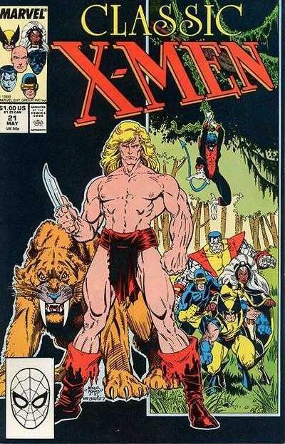 classic x-men 021