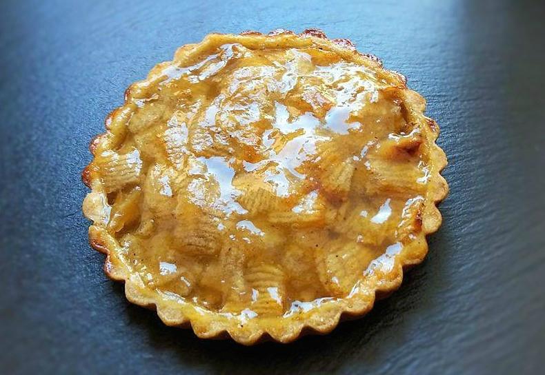 Tartelettes aux pommes et nappage