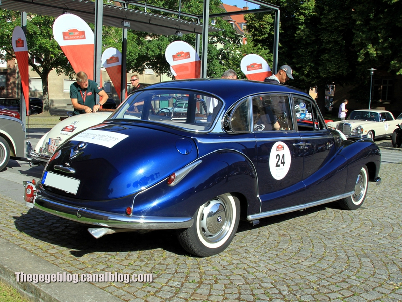 Bmw 502 saloon (Paul Pietsch Classic 2014) 02