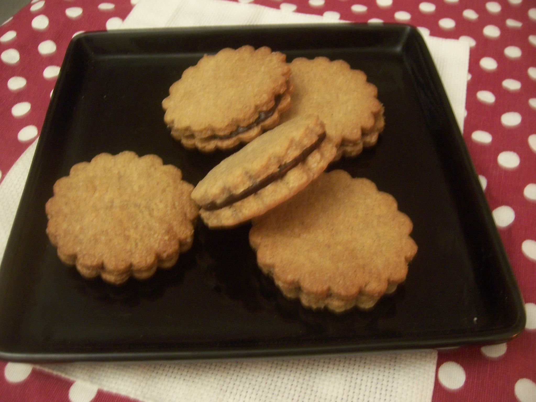 Recette biscuit cannelle chocolat