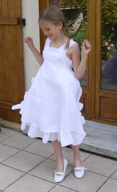 robe communion blanche 10 ans all pictures top. Black Bedroom Furniture Sets. Home Design Ideas