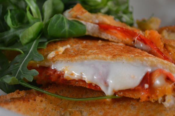 Croque mr chorizo + mozza (1)