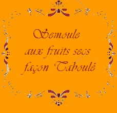Taboué aux Fruits Secs