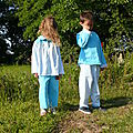 2011 - Angèle taille 6 ans et Donald taille 8 ans