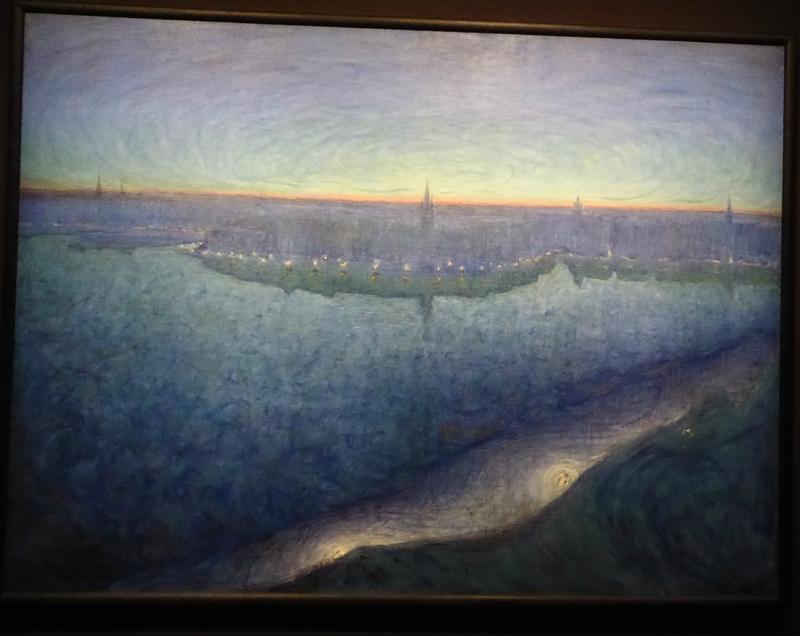 Eugène Jansson L'Aube sur le Riddarfjärden 1899