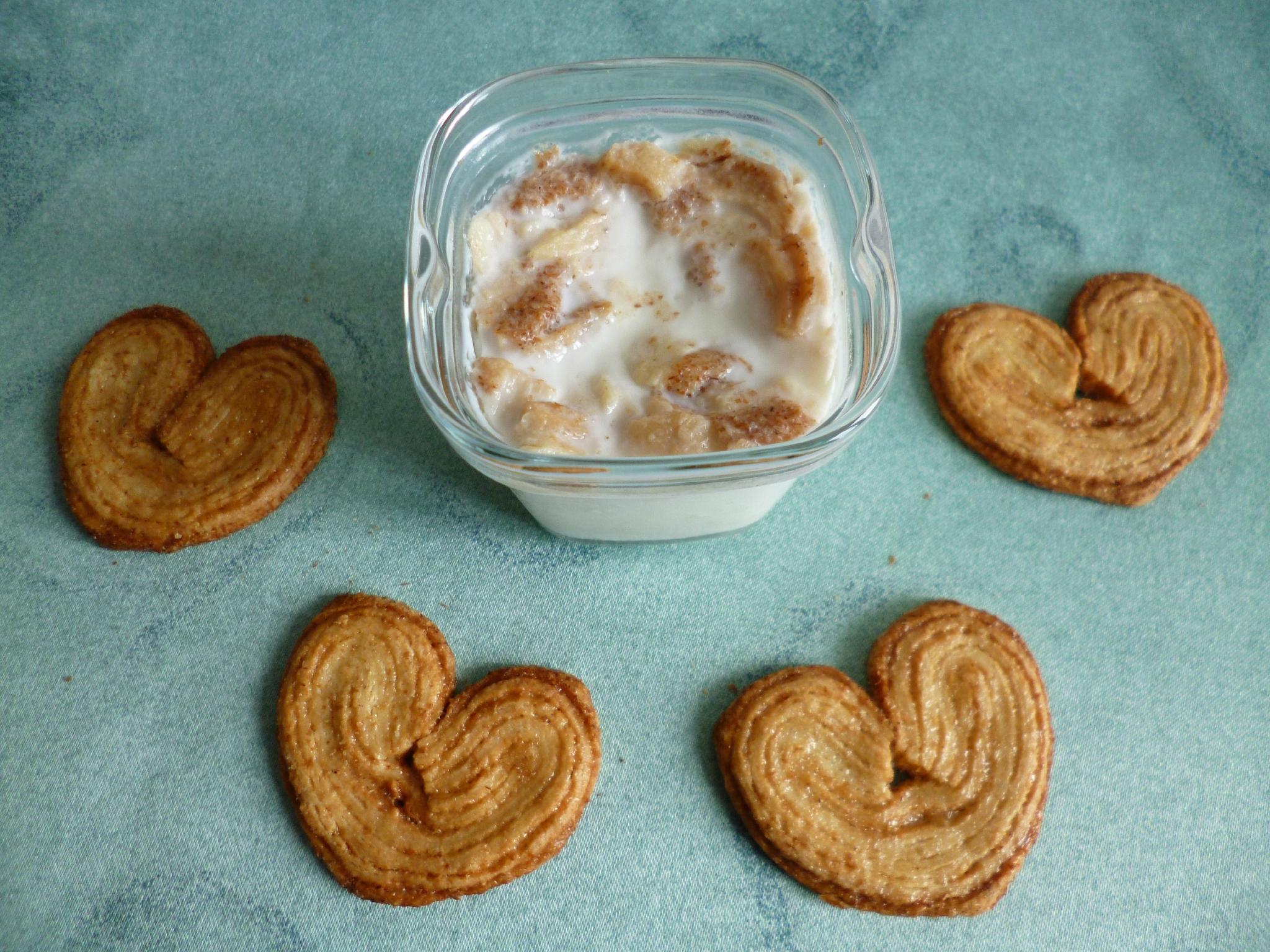 yaourts maison di t tiques aux biscuits palmiers sans sucre mes gourmandises di t tiques. Black Bedroom Furniture Sets. Home Design Ideas