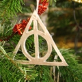 Diy, sapin de noël harry potter