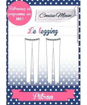 Made in Me Couture - Legging Cousu Main