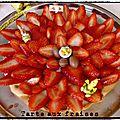 Tarte au fraise au thermomix