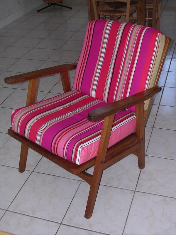 housses du fauteuil fait par mon papy