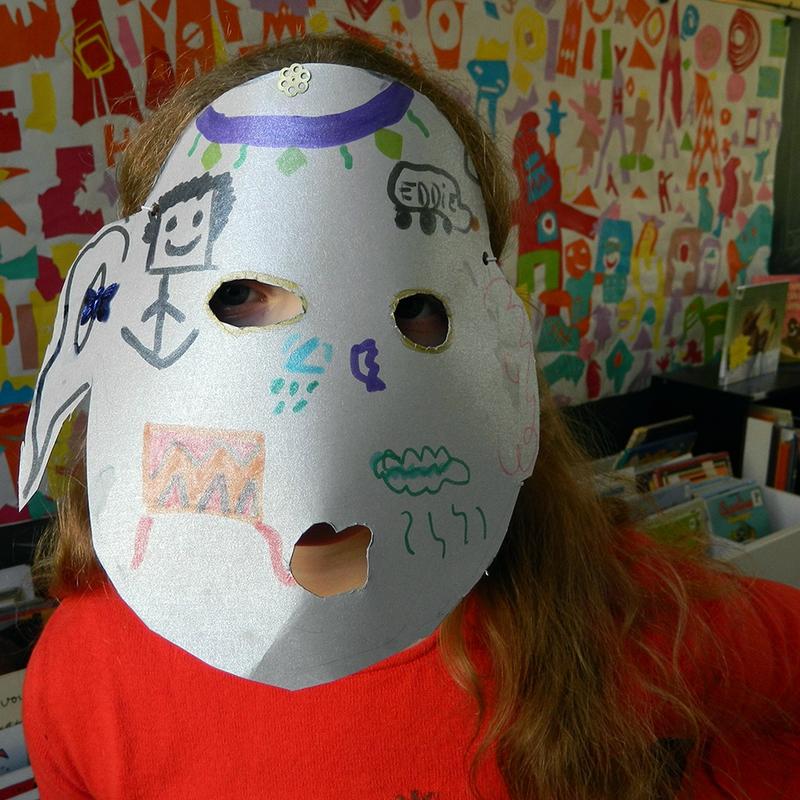 activite enfant,centre de loisirs,carnaval,deguisement,masque en papier,ecole,DIY,tuto, poc a poc 1
