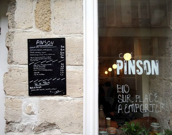 caf pinson restaurant bio paris