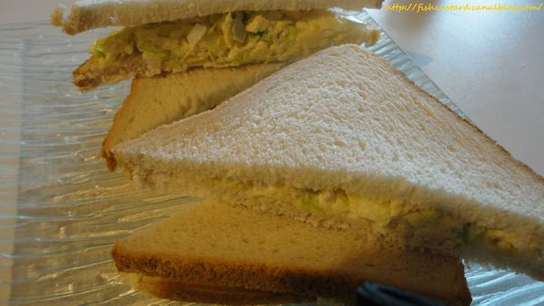 Cheese and Onion Sandwich (9)