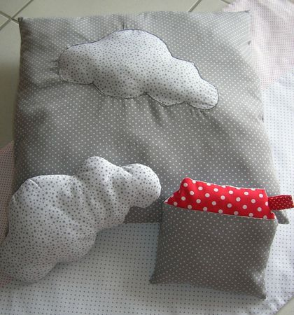 coussin jouets tissus