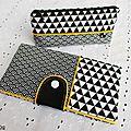 Ensemble noir et blanc...géométrique...
