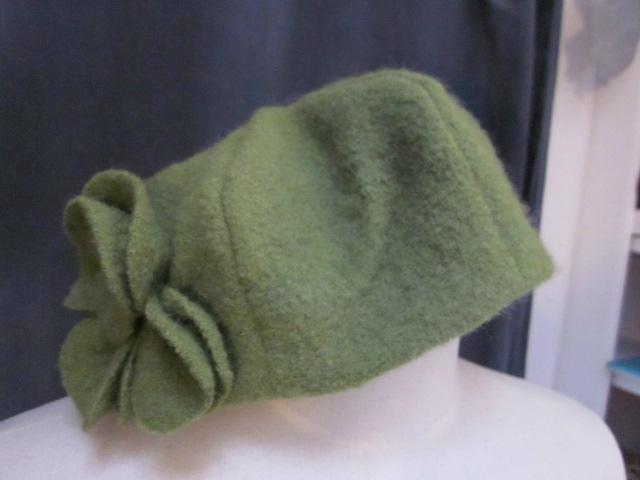 Quelques chapeaux AGATHE pour la semaine vert/jaune...