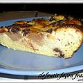 CLAFOUTIS FACON FRANGIPANE AUX NASHIS 