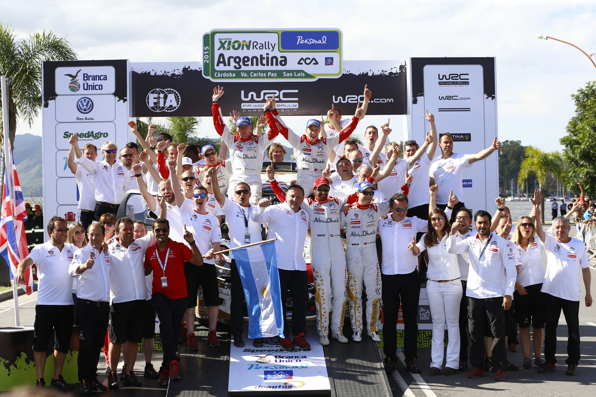 DOUBLÉ DES DS 3 WRC EN ARGENTINE !