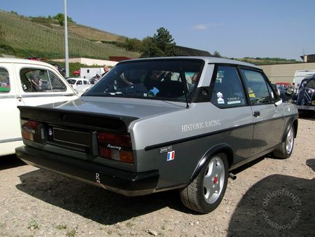 Fiat 131 racing 2000 tc 1978 1982 Bourse d'Echanges de Soultzmatt 2011 2