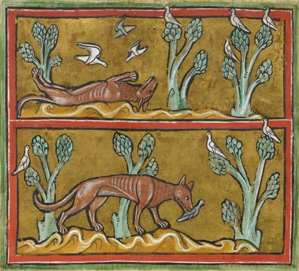 Fox from the Rochester Bestiary