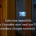 Lointain immobile