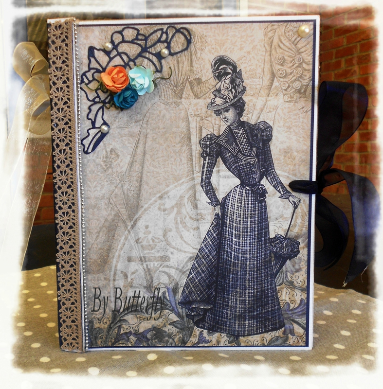 Album kit scrap en papier couverture 1