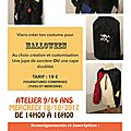 Couture et halloween