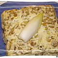 Clafoutis endives, jambon et gruyere