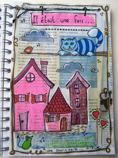 artjournal personnages