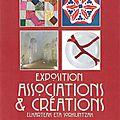Exposition association & création avec patch y coud du 2 au 6 avril 2015 ciboure.