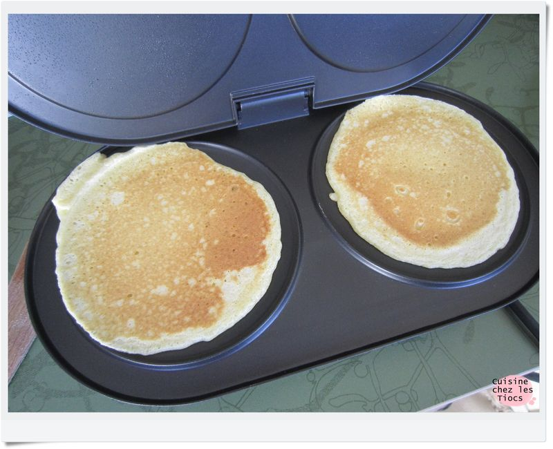 Machine a pancake