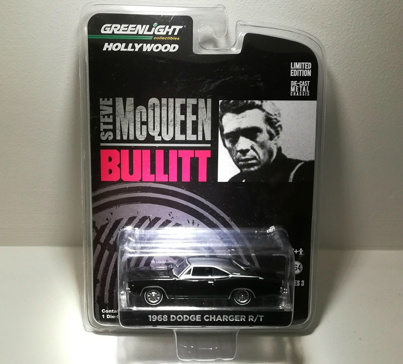 Dodge Charger RT de 1968 (Bullitt) Greenlight