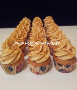 Mini cupcakes speculoos Vos Gourmandiz