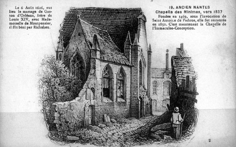 Nantes, Chapelle de l'Immaculée Conception 2