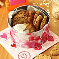 Cookies avoine et noix de coco