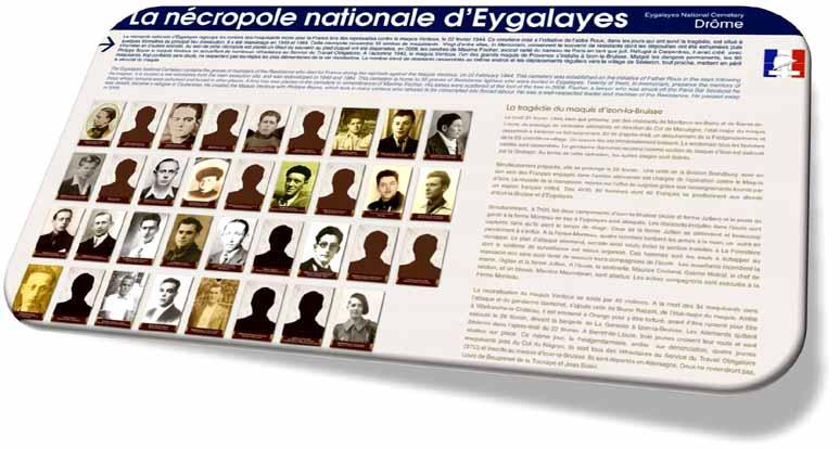 Eygalayes, le 14 mai 2015-Panneau de l'ONACVG