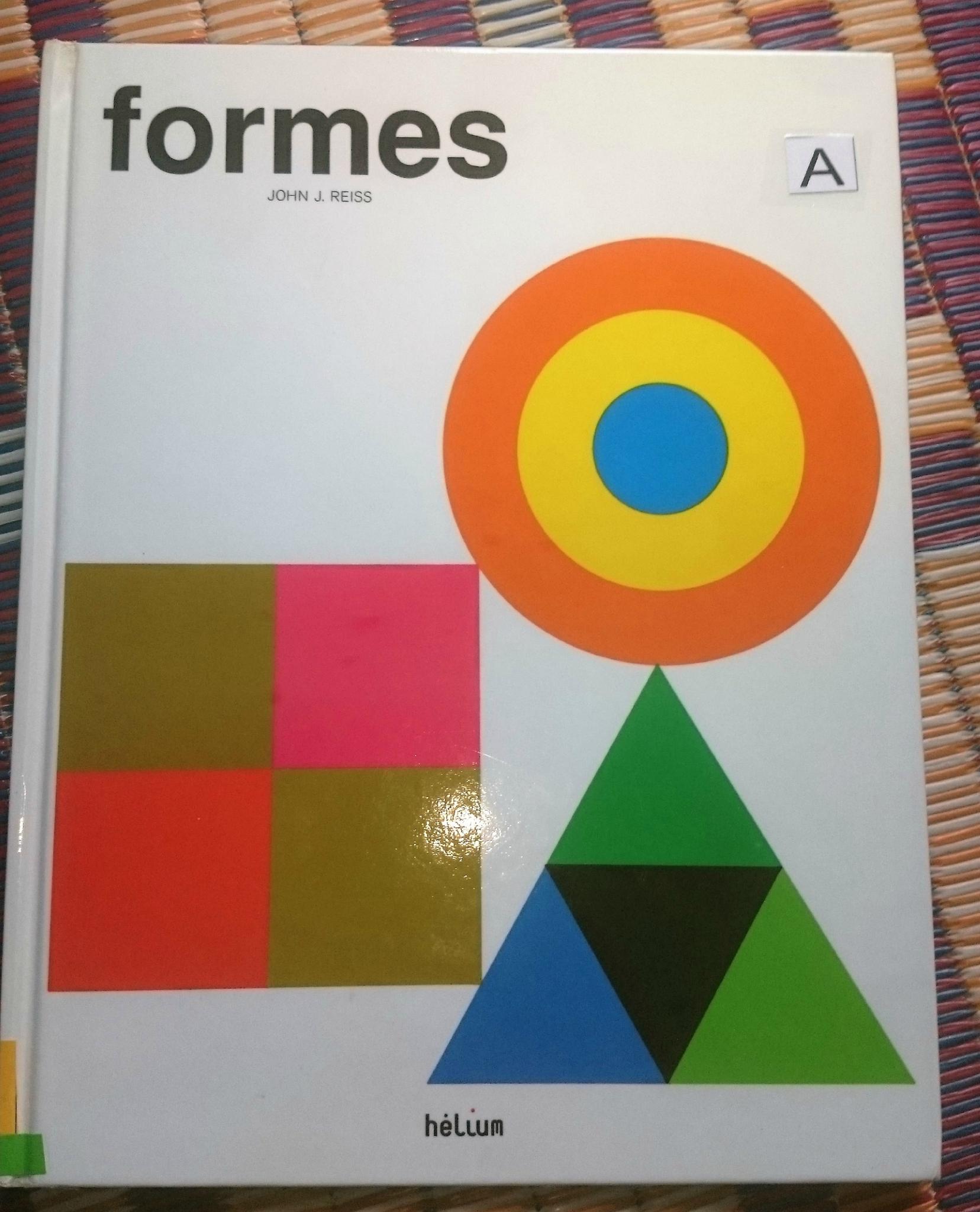 Livre pour enfants: Formes