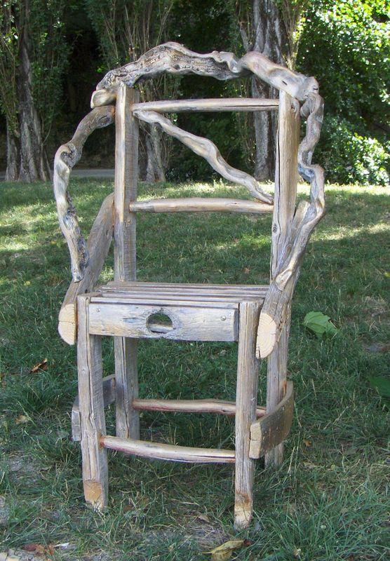 St montan autrefois coeur d 39 ardechoise for Chaise bois flotte