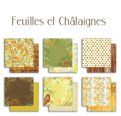 coll PS115 feuilles chataihnes