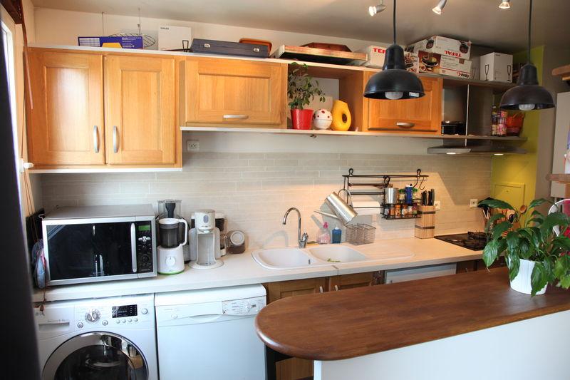 La cuisine ouverte appartement f3 vendre asni res for Cuisine americaine fermee