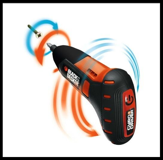 black & decker tournevis gyro driver 3