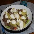Steack haché - pomme de terre