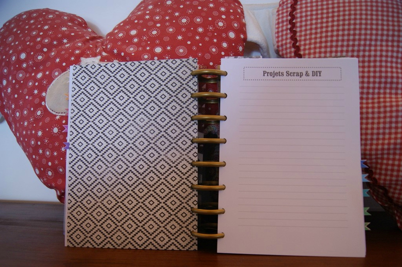 Bullet journal _ agenda projets DIY