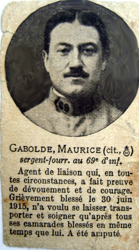 citation armée 1915