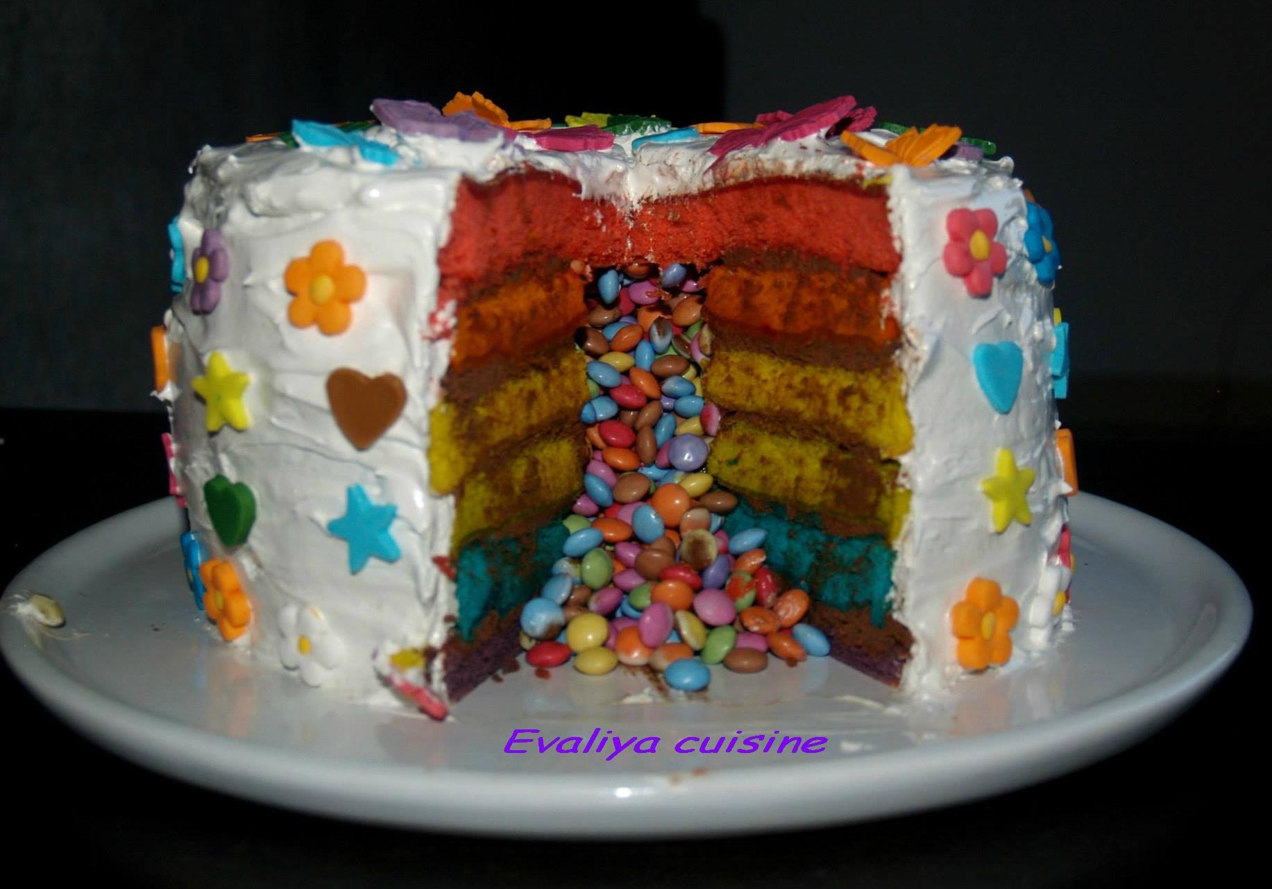 Rainbow cake 7