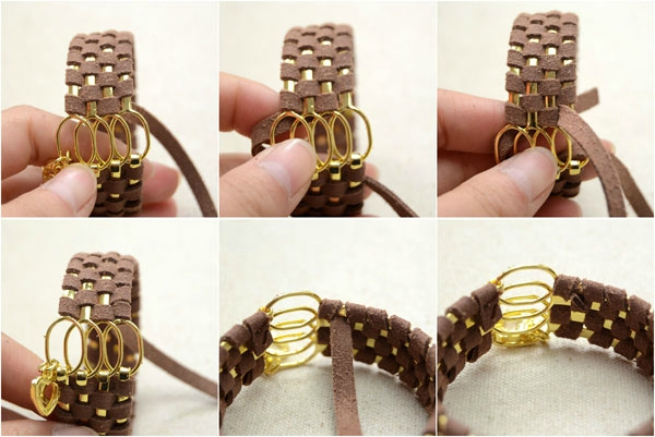 Cool-Ways-to-Make-Stacked-4-in-1-Wide-Metal-Cuff-Bracelets-with-Suede-Cord-step2-5