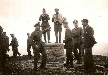 la Rhune en 1940